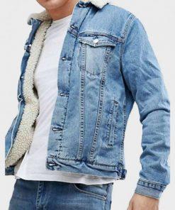 Erik Killmonger Black Panther Blue Denim Jacket