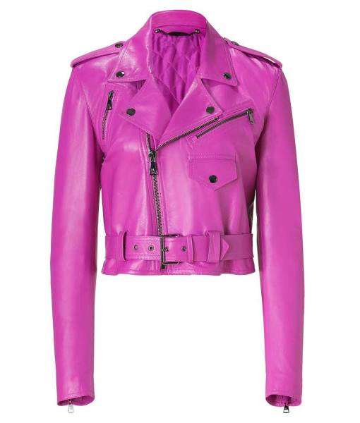 Jessica Alba Pink Jacket