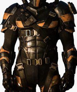 Justice League Deathstroke Leather Jacket