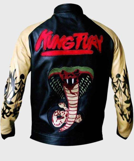Kung Fury Cobra Bomber Jacket