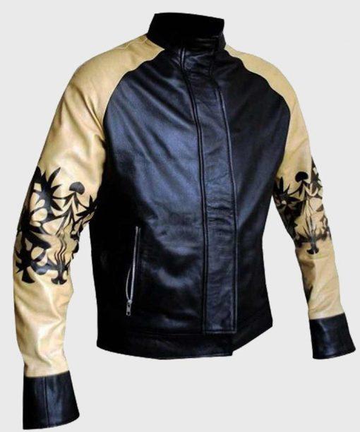 Kung Fury Cobra Bomber Leather Jacket