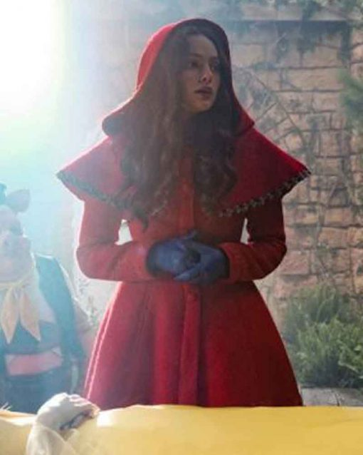 Legacies Hope Mikaelson Red Coat