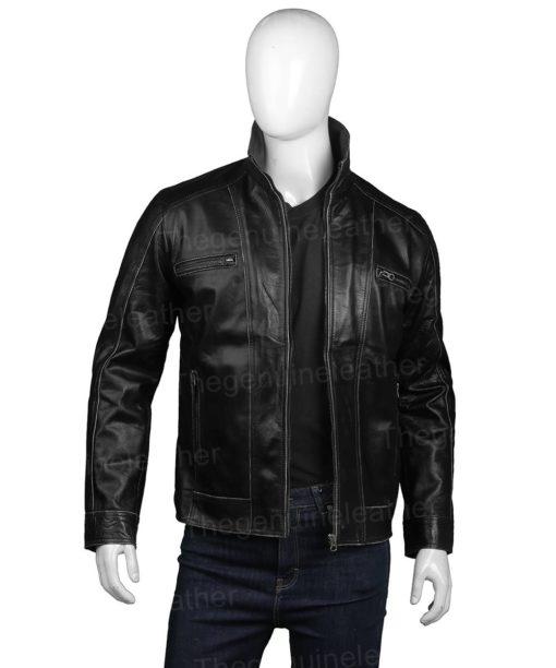 Mens Casual Black Jacket