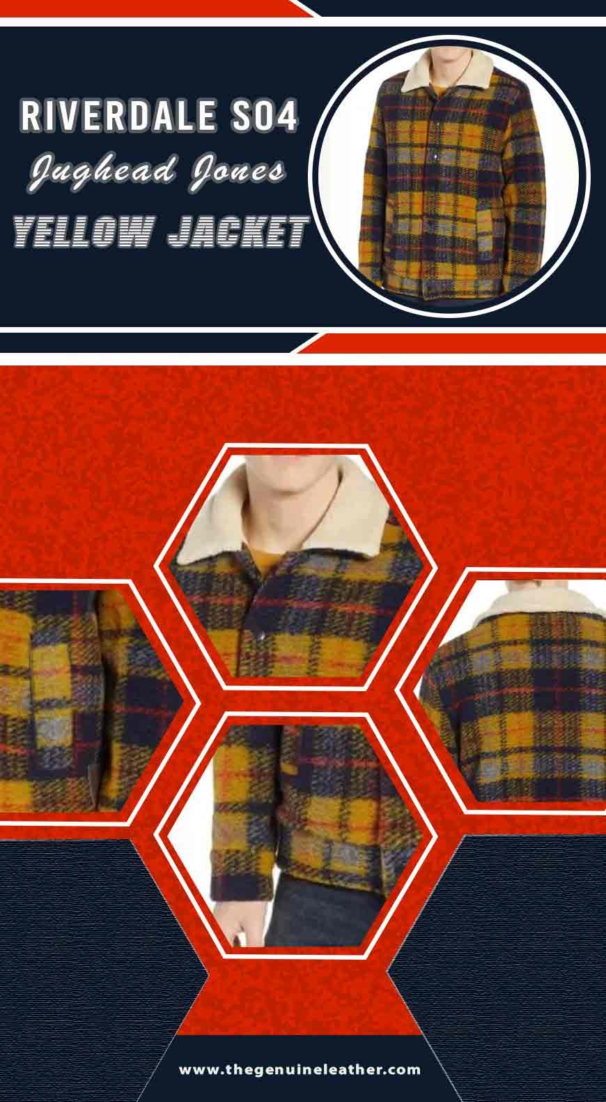 Riverdale S04 Jughead Jones Yellow Jacket info