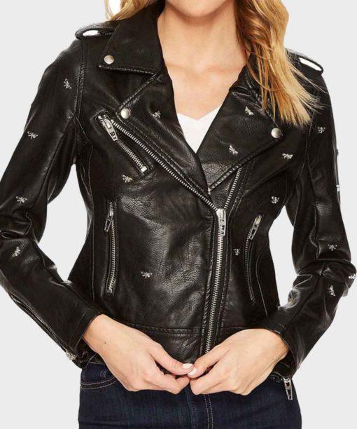 Riverdale S05 Betty Cooper Black Studded Jacket