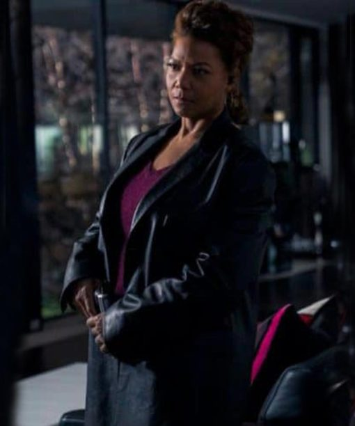 The Equalizer Robyn McCall Black Leather Coat