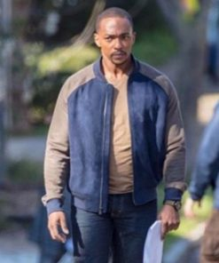 The Falcon and the Winter Soldier Sam Wilson Blue Jacket