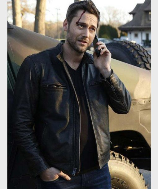 Tom Keen The Blacklist Leather Jacket