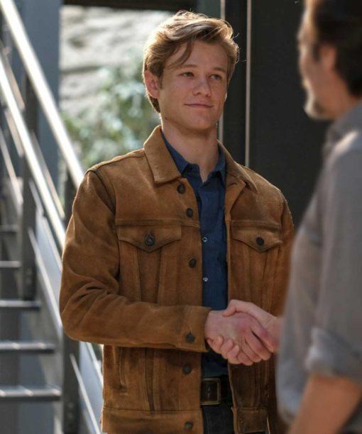 Angus MacGyver Brown Jacket