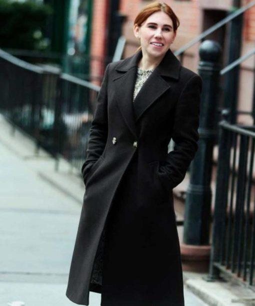 Annie Mouradian The Flight Attendant Black Coat