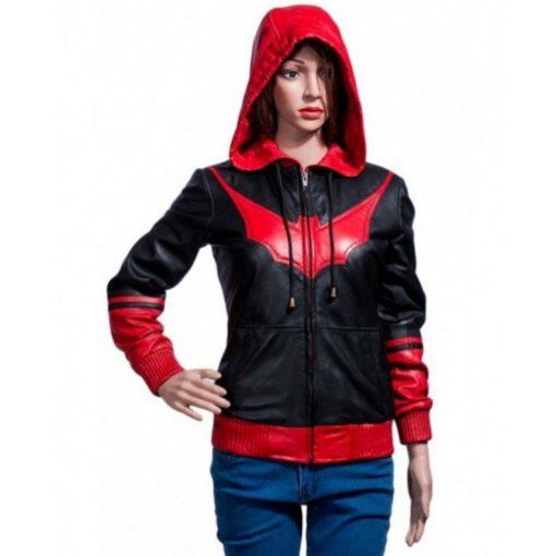 Batwoman Kate Kane Hooded Jacket
