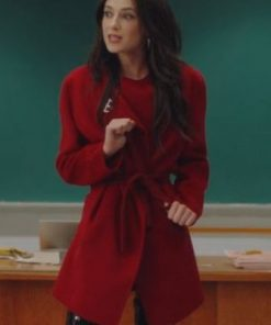 Bonding S02 Zoe Levin Red Coat