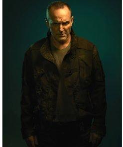 Clark Gregg Agent of Shield Black Jacket