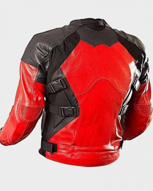 Deadpool Armored Red and Black Jacket