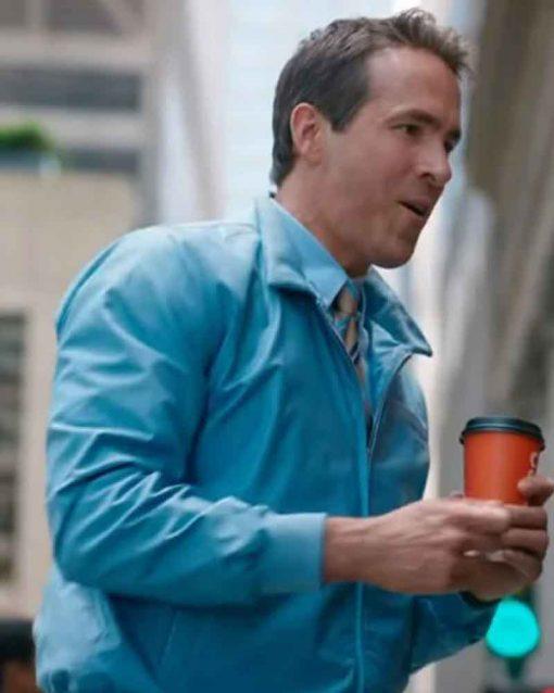 Free Guy Ryan Reynolds Bomber Jacket