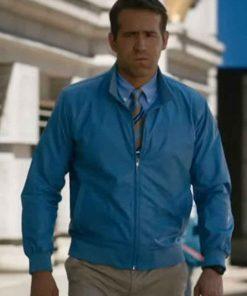 Free Guy Ryan Reynolds Jacket