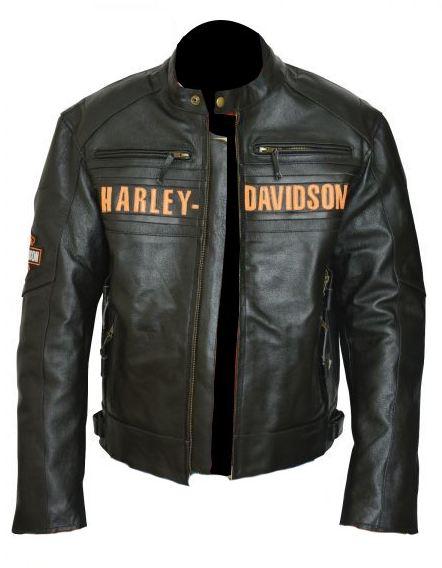 Harley Davidson Men Passing Link Triple Vent Jacket