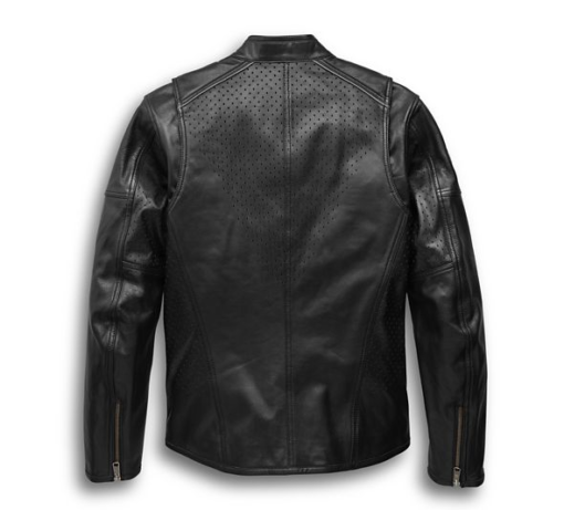 Harley Davidson Men's Llano Perforated Jacket