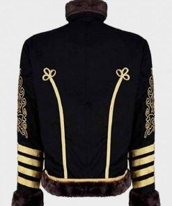 Jimi Hendrix Hussars Black Jacket