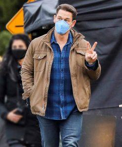 John Cena Peacemaker Brown Jacket
