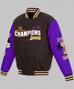 Los Angeles Lakers 17x Varsity Jacket
