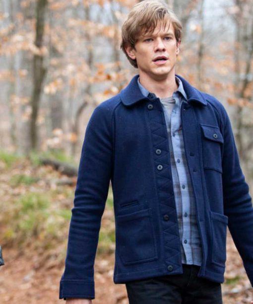 MacGyver Angus Blue Jacket
