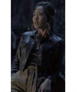 Mary Hamilton Leather Jacket