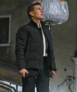 Mission Impossible 7 Tom Cruise Black Jacket