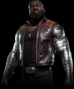 Mortal Kombat 11 Jax Leather Vest