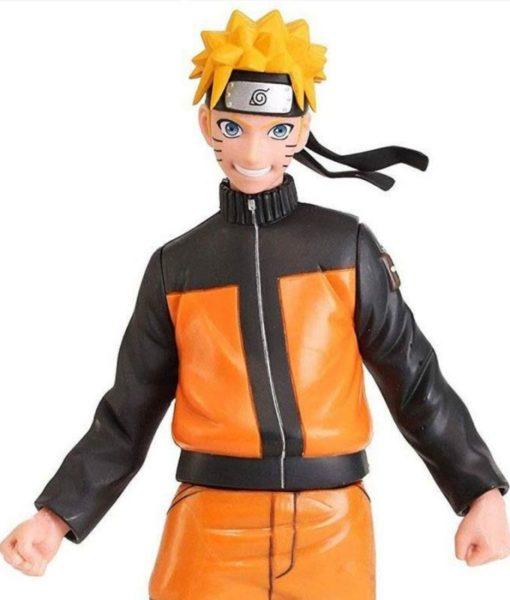 Naruto Shippuden Uzumaki Naruto Orange Jacket