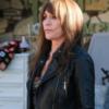 Rebel Katey Sagal Black Biker Leather Jacket
