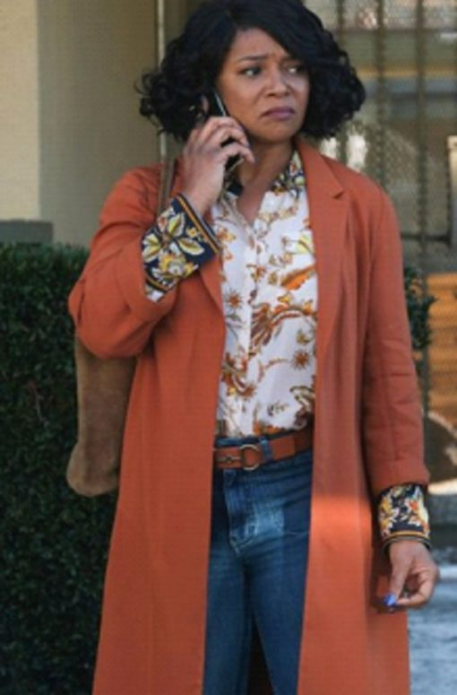 Rebel Tamala Jones Orange Coat