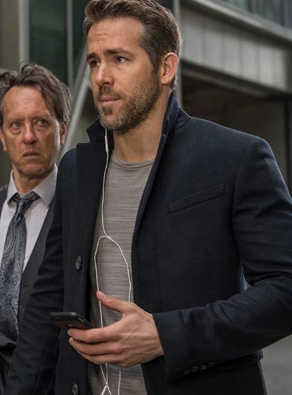 The Hitman's Bodyguard Ryan Reynolds Coat