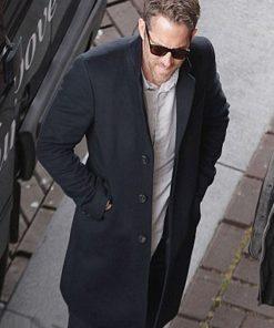 The Hitman's Bodyguard Ryan Reynolds Wool Coat