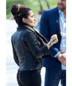 The Hitman's Wife's Bodyguard Sonia Kincaid Leather Jacket