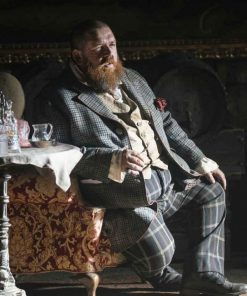 The Nevers Declan Orrun Checkered Coat