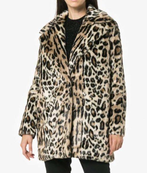 Younger Lauren Heller Cheetah Coat