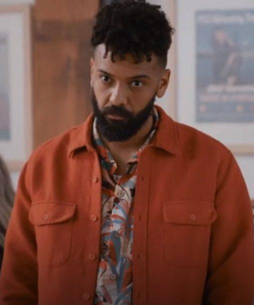 Amadi Shrill Orange Jacket