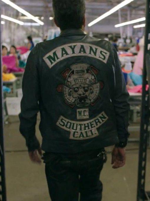 Angel Reyes Mayans Leather Vest