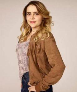 Annie Marks Good Girls Fringe Jacket