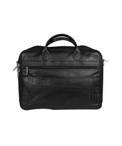 Briefcase Expandable Business Case Leather Bag