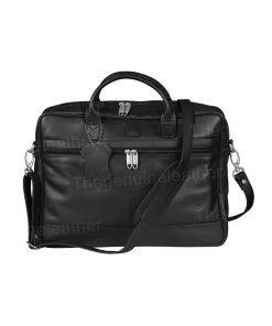 Briefcase Laptop Messenger Black Bag