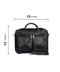 Computer Briefcase Expandable Business Case Bag