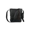 Crossbody Satchel Black Leather Bag