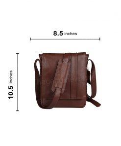 Crossbody Satchel Brown Bag