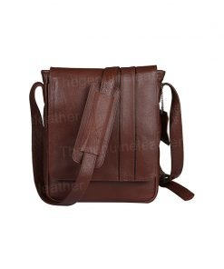 Crossbody Satchel Brown Leather Bag