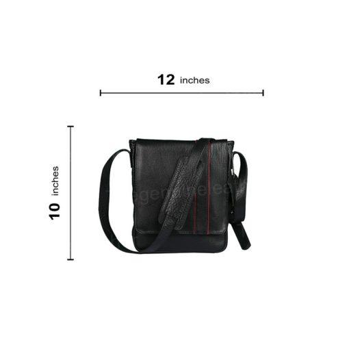 Crossbody Satchel Leather Bag