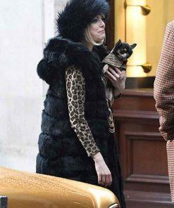 Cruella Emma Stone Fur Coat