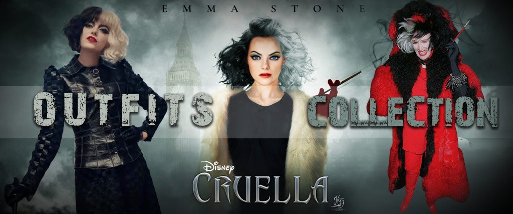 Cruella Outfits Collection