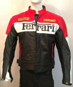 Ferrari Motorcycle Racing Jacket